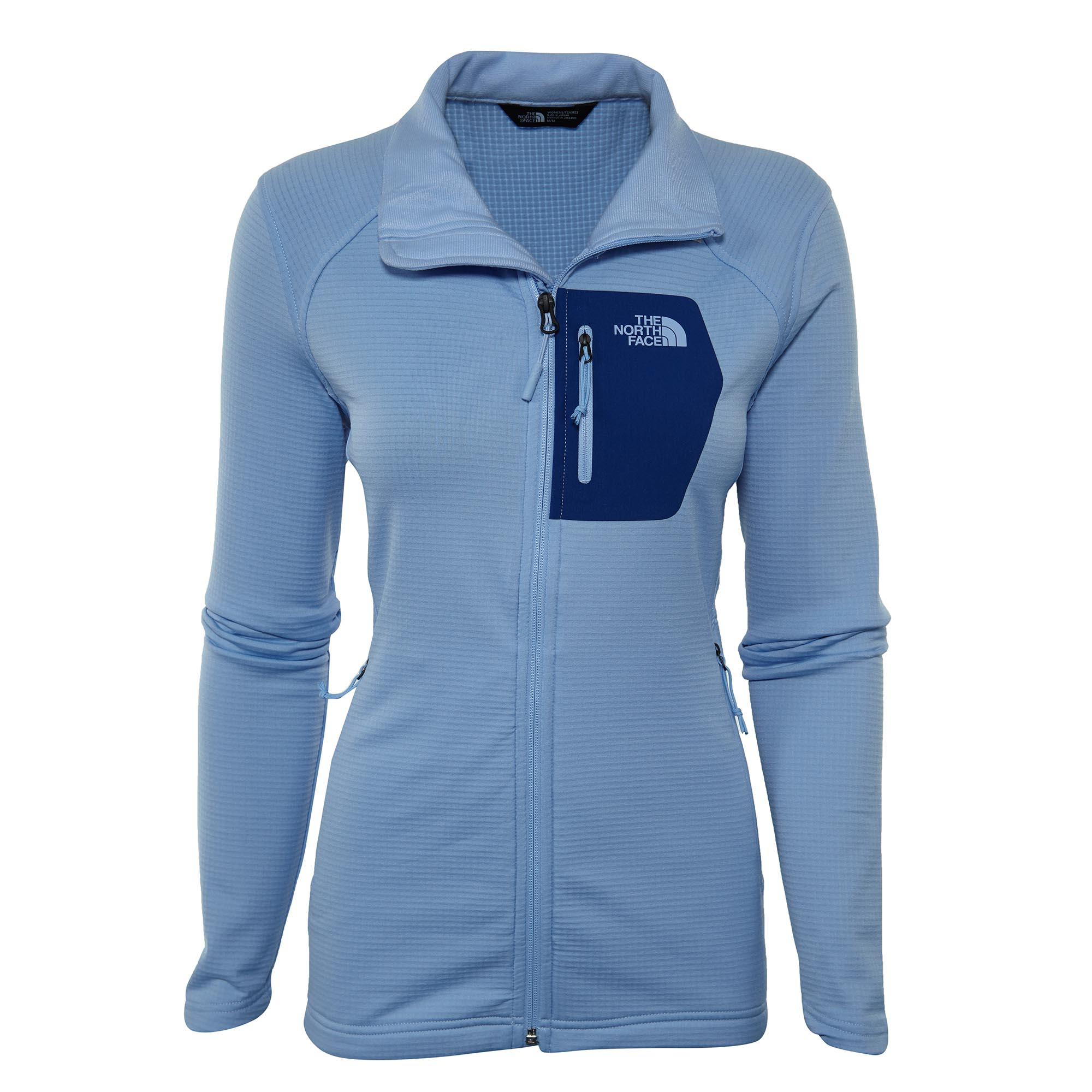 b47f6ce4cef71 Details about The North Face Womens Borod Full Zip Fleece Jacket A3C8A-N3L
