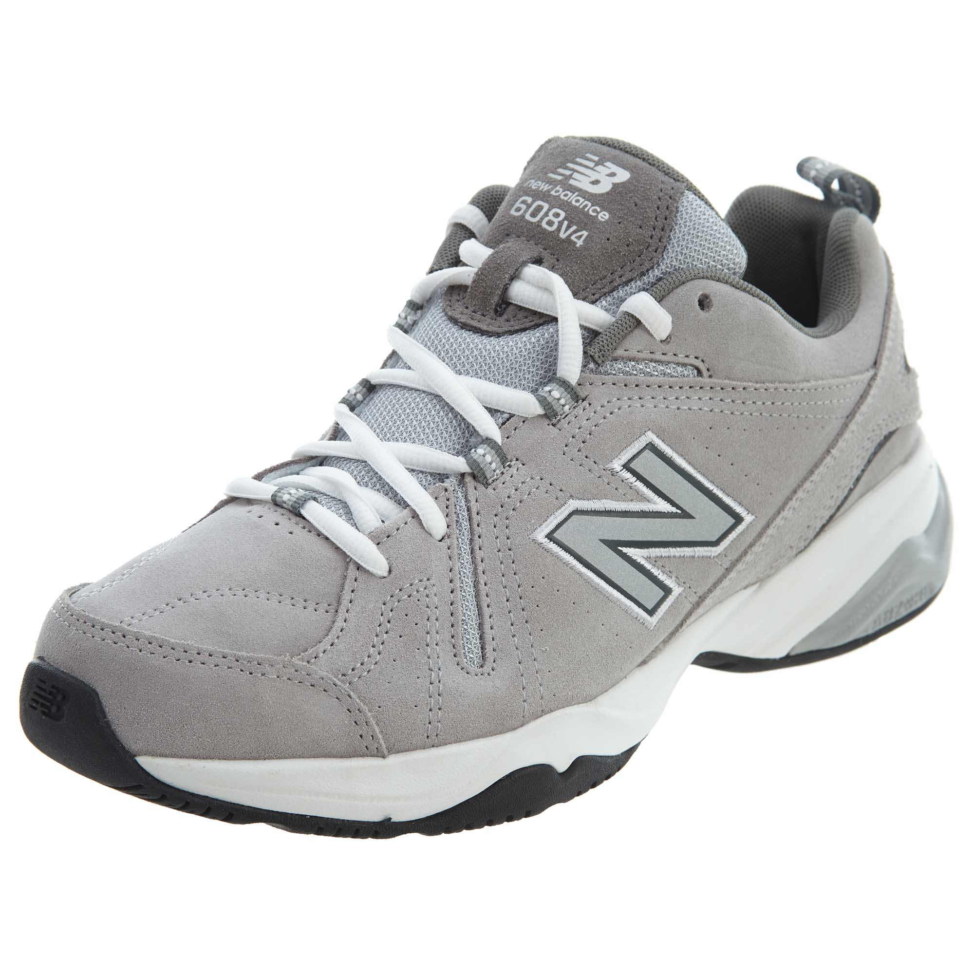 520577ab8dac Details about New Balance Mens 608 Training Shoes Grey MX608-V4G
