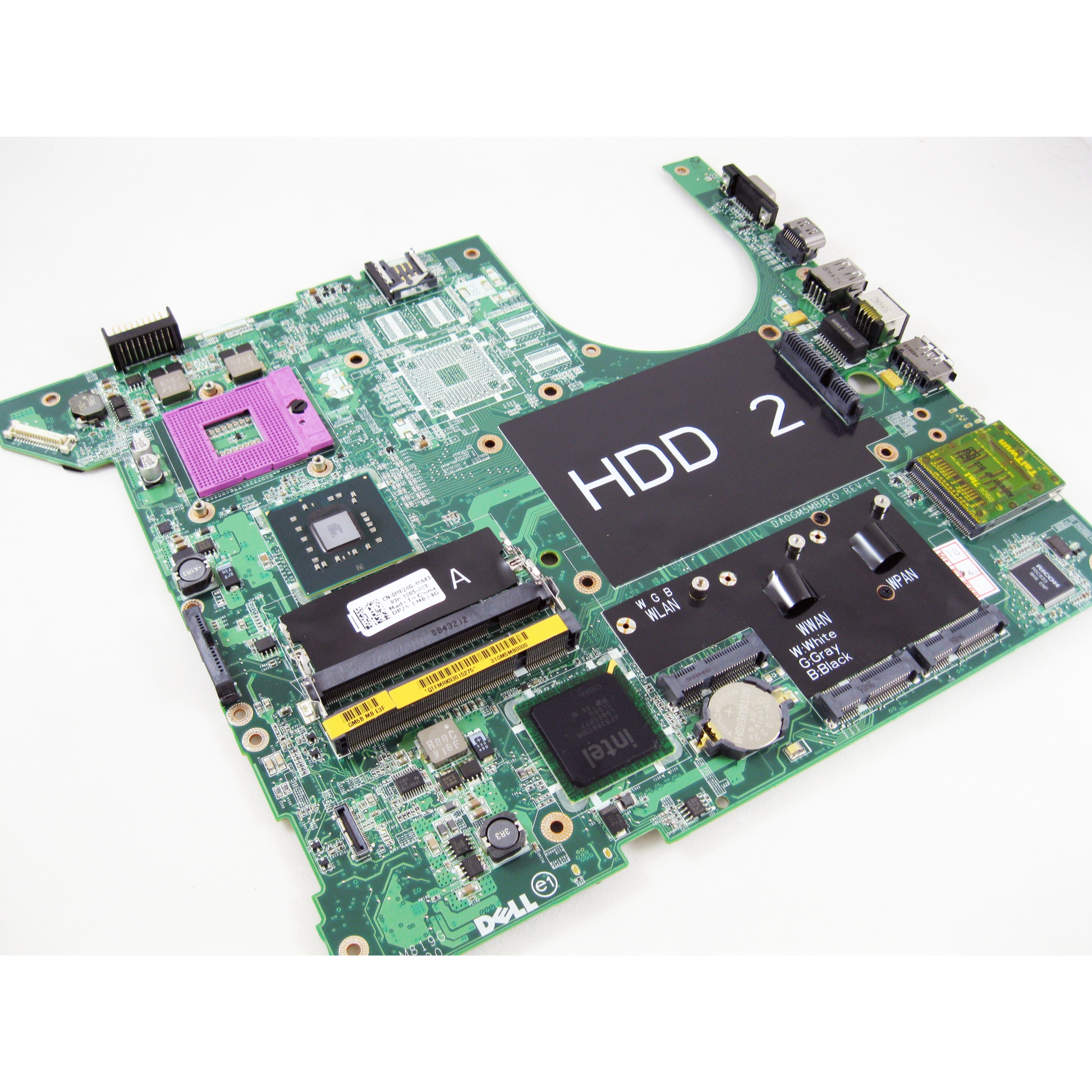 Dell M824G Studio 1737 Intel Laptop Motherboard