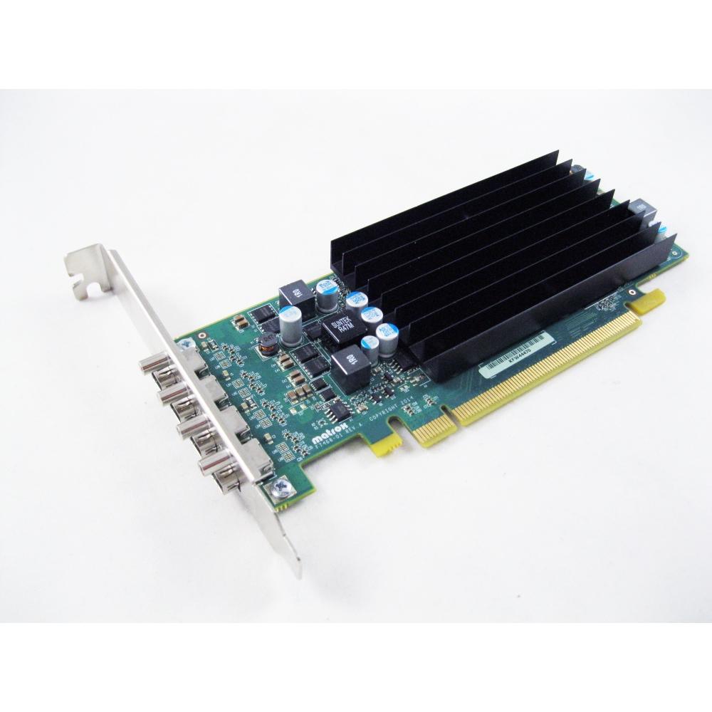 Matrox C420-E2GBLAF Low Profile PCIe 3.0 x16 2GB GDDR5 Memory Video Graphic Card